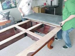 Pool table moves in St. Cloud Minnesota
