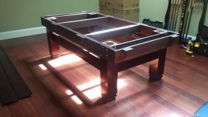 Correctly performing pool table installations, St. Cloud Minnesota